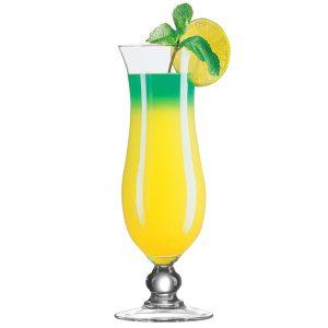 Hurricane cocktail glasses