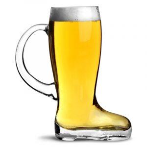 boot pint glass