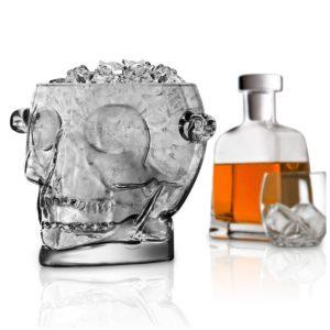 brain scull ice bucket