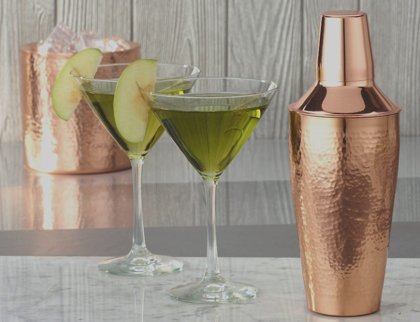 Copper Platted Cocktail Shakers