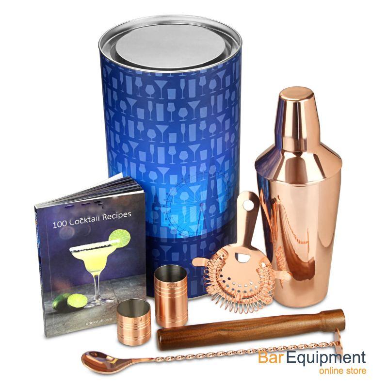 cocktail shaker copper kit