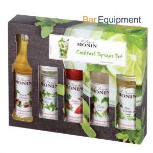 monin cocktail syrup set