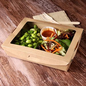 salad box with window