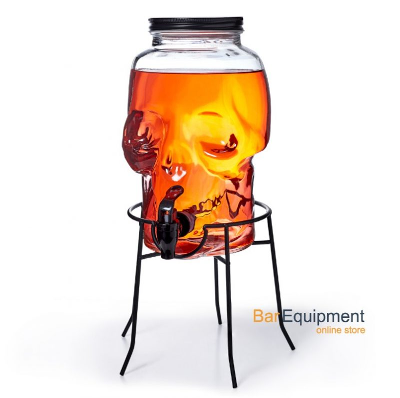 skull beverage dispenser