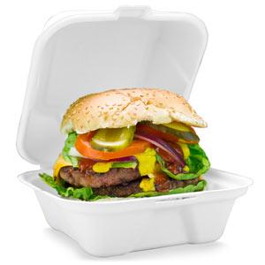 take away burger box