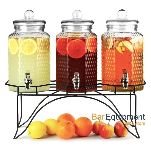 triple drinks dispenser