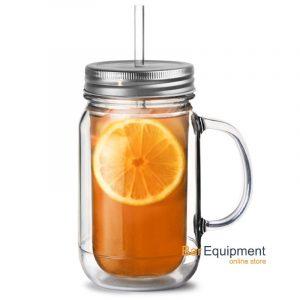 Plastic Mason Drinking Jar