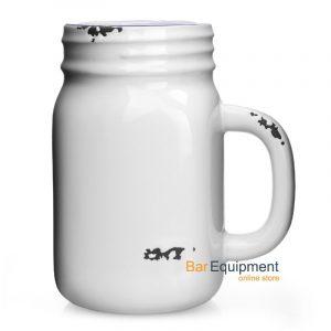Enamel Style Tennessee Drinking Jar