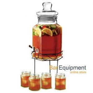drinks dispenser with tumbler