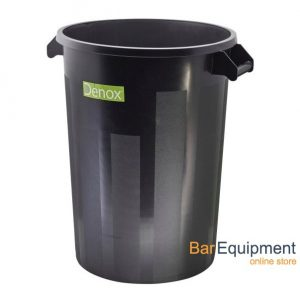 Black Dust Bin 100ltr