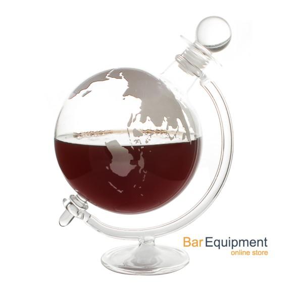 globe wine decanter